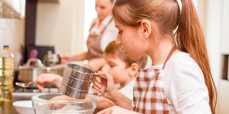 Дети и домашнее хозяйство