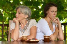 Частые ссоры с мамой